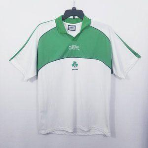 Umbro Ireland Soccer Shirt/Polo - Size XL - VGC